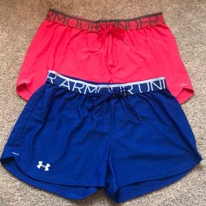 Two pairs of Under Armor shorts